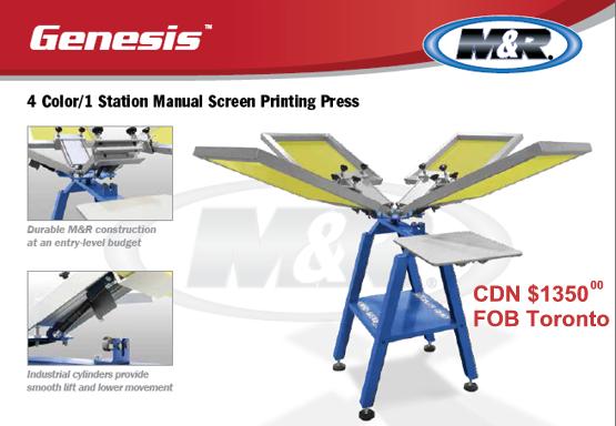 Genesis Manual Press