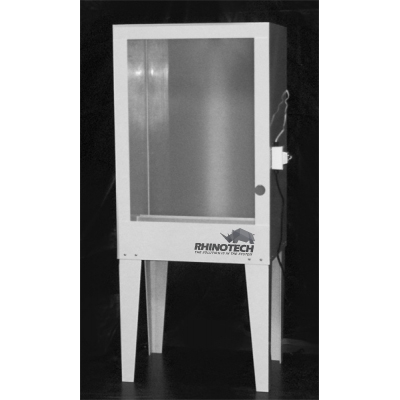 "Ultralite 3/8"" Polypropylene Washout Booth With Backlight"