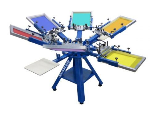 M&R KRUZER Manual Screen Printing Press