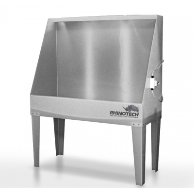 Rhino Tech Polylite Washout Booth with BackLight