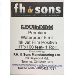 InkJet Film Premium Waterproof (Roll)