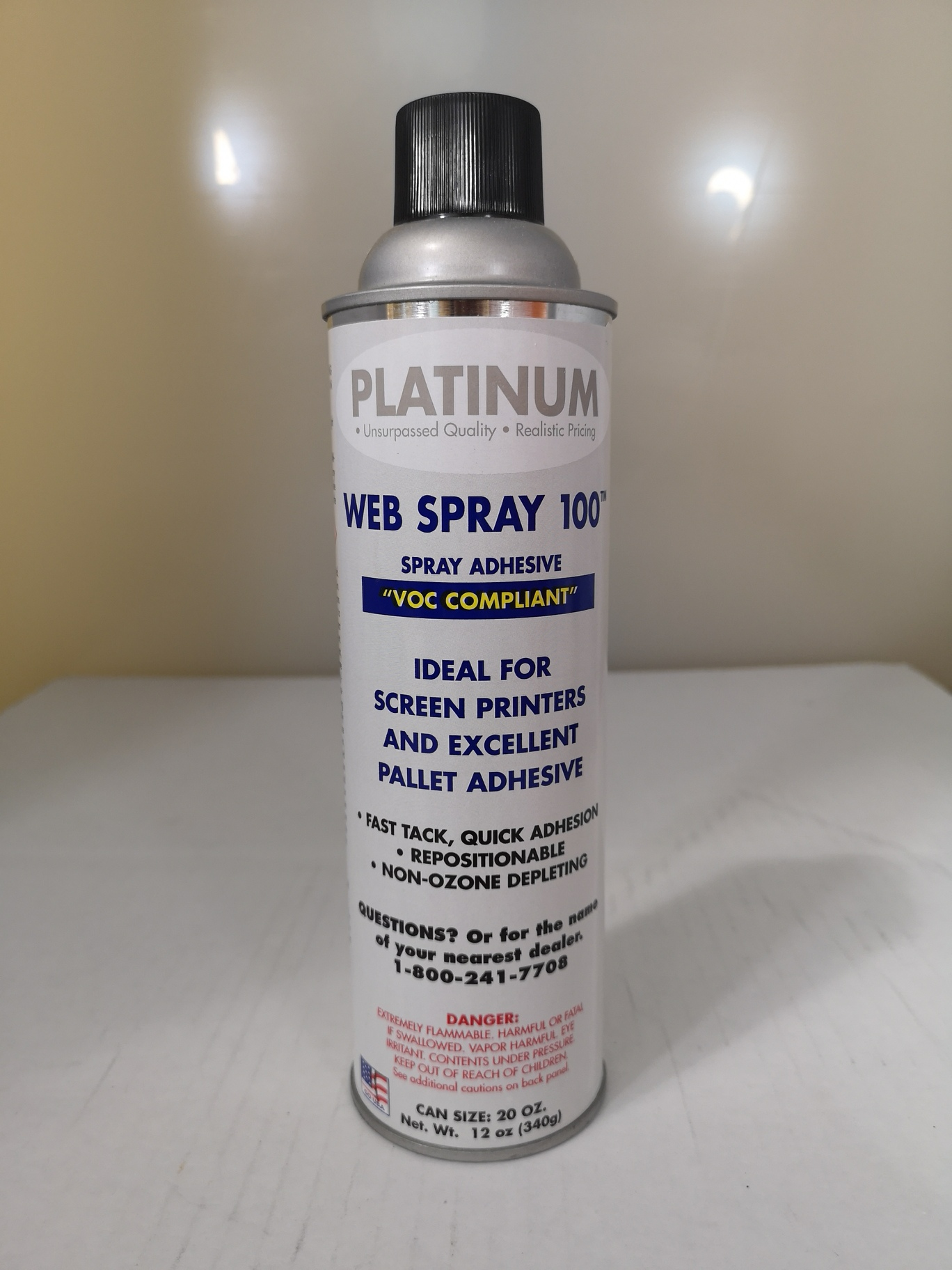 Platinum 100 Light Web adhesive